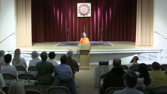 Yama Part 4: Aparigraha with Swami Karunananda