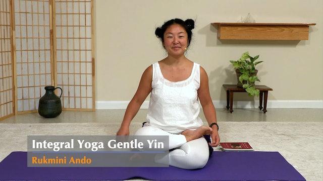 Gentle Yin Yoga with Rukmini Ando - Class 2