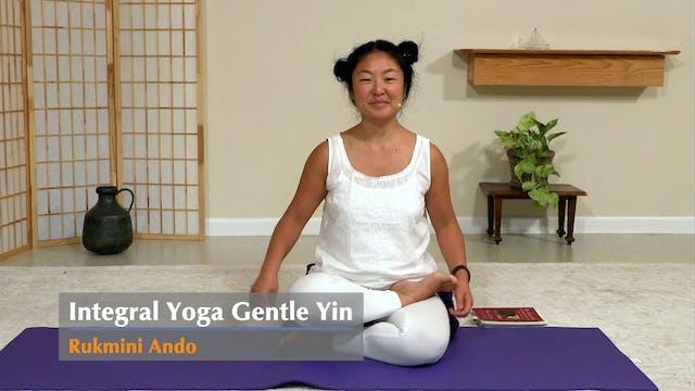 Gentle Yin Yoga with Rukmini Ando - C...