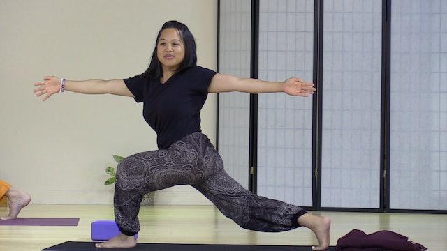Hatha Yoga - Mixed Level with Saci Murphy- Class 4