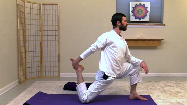 Hatha Yoga - Level 3 with Zac Parker - Class 2