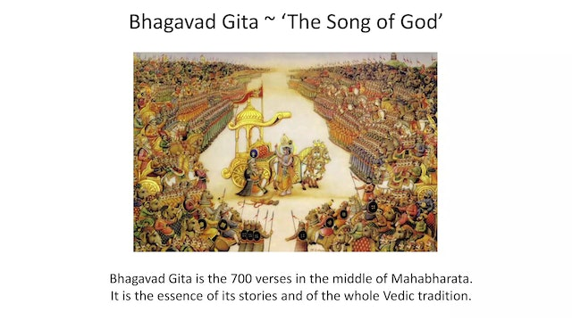 Introduction to the Bhagavad Gita with Swami Asokananda