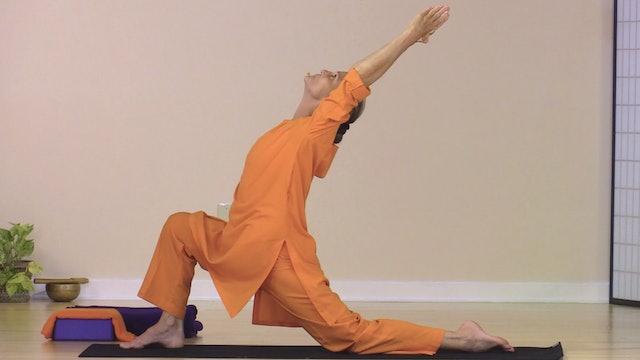 Hatha Yoga - Level 2-3 with Swami Arivananda - Class 10