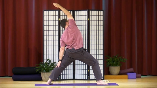 Hatha Yoga - Level 2-3 with Krishna Howeth - Class 1
