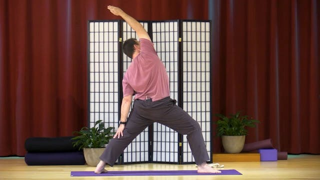 Hatha Yoga - Level 2-3 with Krishna H...