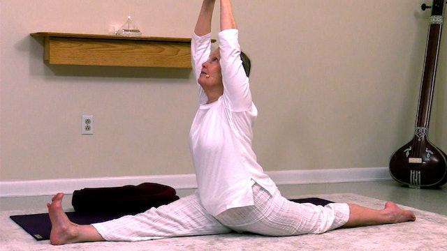 Hatha Yoga - Level 2-3 Hanumanasana with Sridevi Jones