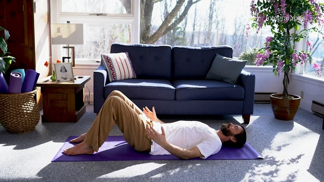 Hatha Yoga Tips: Constructive Rest Position with Zac Parker