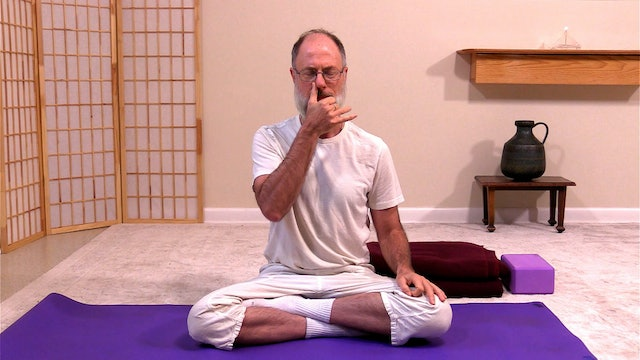 Integral Yoga Basic Pranayama with Brahman Schawaller