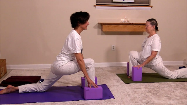 Hatha Yoga - Level 2 with Sridevi Jones -  Class 4
