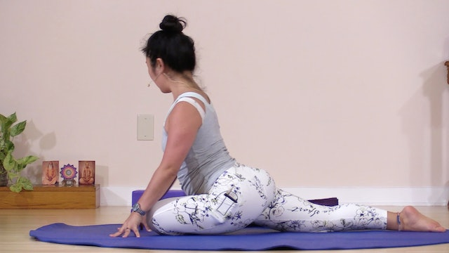 Hatha Yoga Tips: Pigeon Pose with Rukmini Ando
