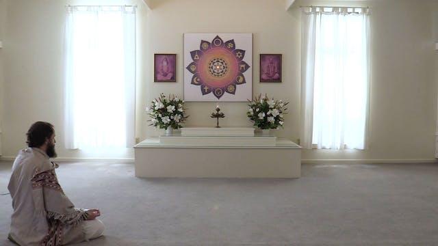 30-min. Meditation with Narada Williams