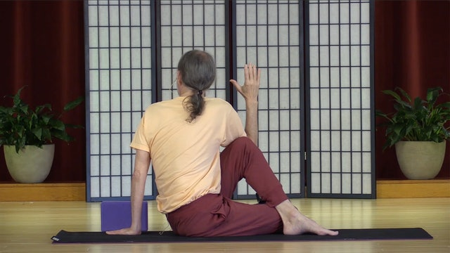 Hatha Yoga - Level 2 with Swami Asokananda - Class 1