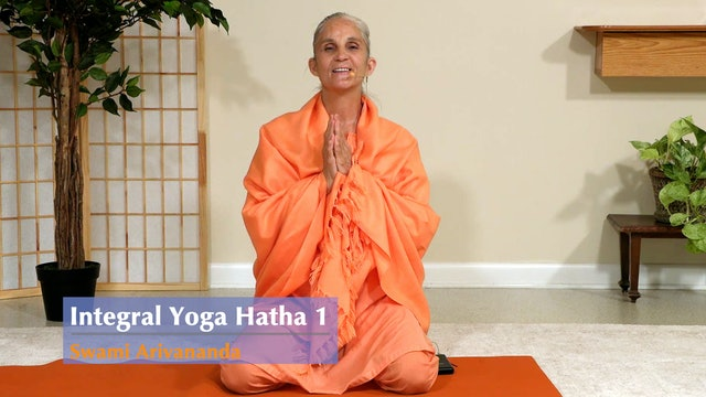 Hatha Yoga - Level 1 with Swami Arivananda - Class 6