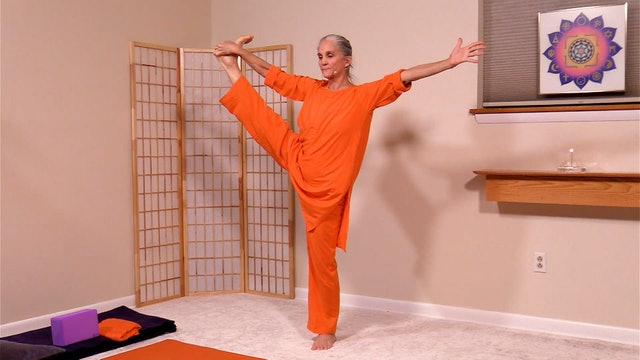 Hatha Yoga - Level 2-3 Strength and Flexibility with Swami Arivananda