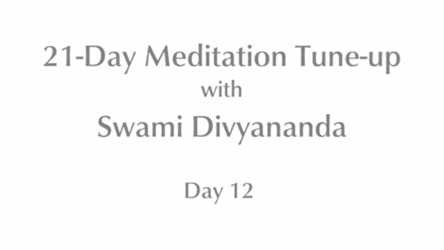 21-Day Mediation Tune-up: Day 12 with...
