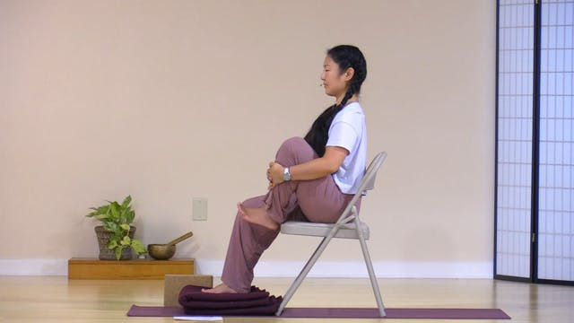 Chair Yoga with Rukmini Ando - Class 6
