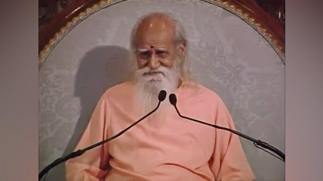 Saucha - A Talk by Sri Swami Satchida...