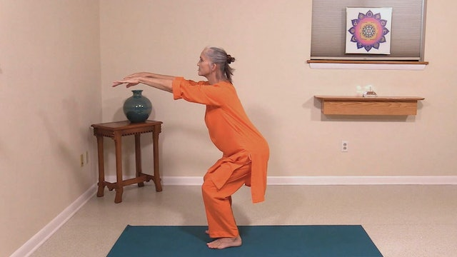 Hatha Yoga Tips: Chair Pose with Swami Arivananda