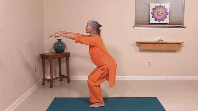 Hatha Yoga Tips: Chair Pose with Saci Murphy