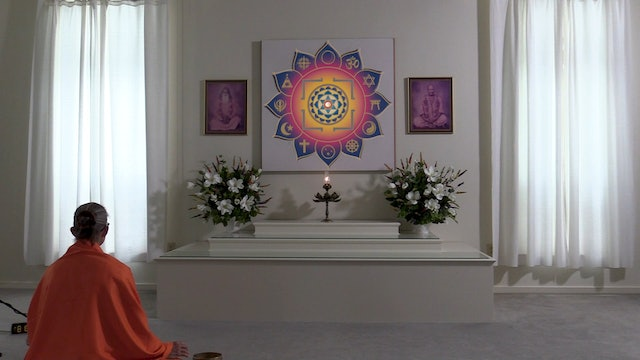 15-min. Meditation with Swami Arivananda