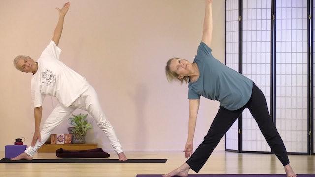 Hatha Yoga - Level 1 with Satya Greenstone - Class 1
