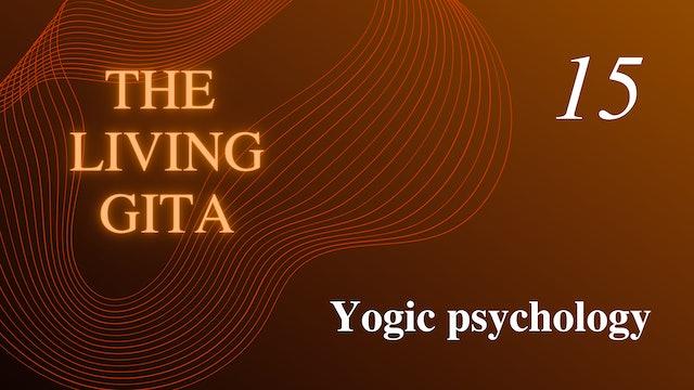 Part 15: Yogic Psychology