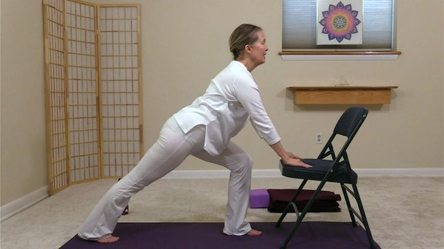 Hatha Yoga - Part 2: Chair to There with Sridevi Jones