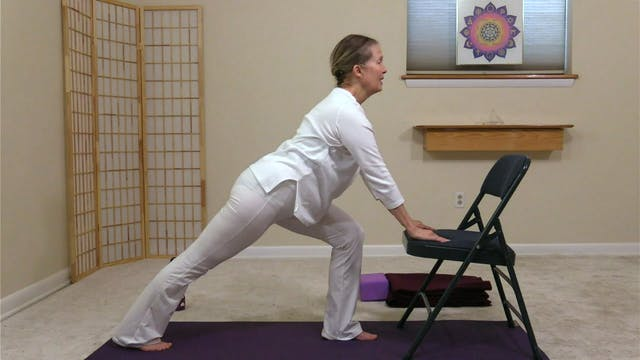 Hatha Yoga - Part 2: Chair to There w...