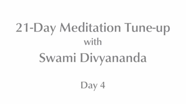 21-Day Mediation Tune-up: Day 4 with ...