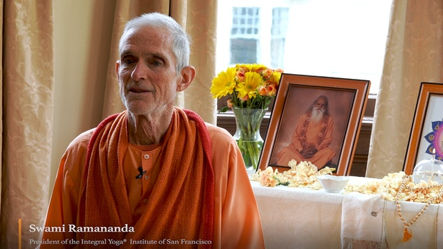 Holding a Light in The Darkness with Swami Ramananda