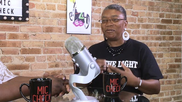 The Mic Check Show#8     Aretha Tatum