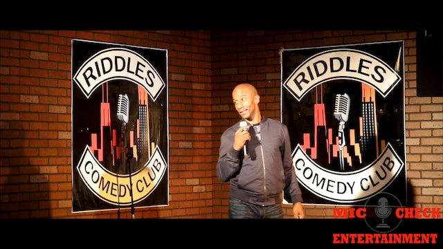 A Night of Riddles Comedy Presented by Mic Check Entertainment