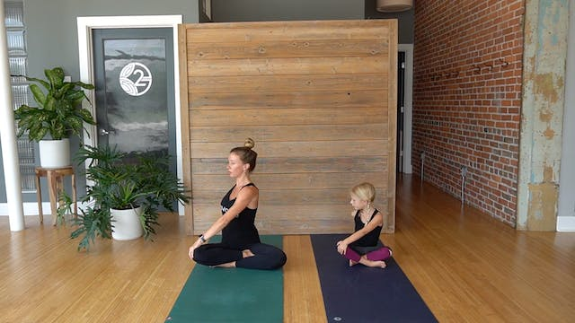 Kid's Yoga with Erin and Emorie