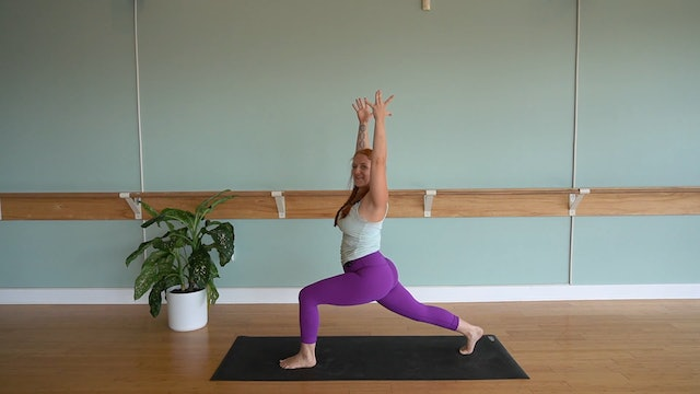 Dynamic Vinyasa Flow with Alexa Halstead (Level 2)