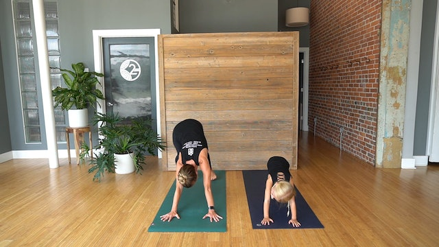Kid's Yoga with Erin Morgan and Emorie