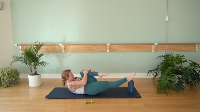 Pilates Mat Precision Focus with Glenna Asmus (Level 2)