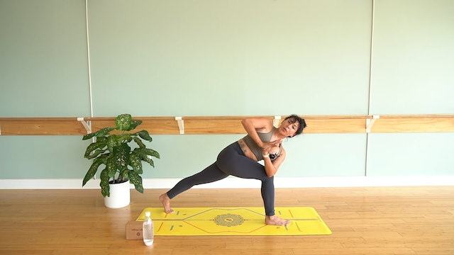 Flow to Headstand with Yvonne Rodriguez (Level 2)
