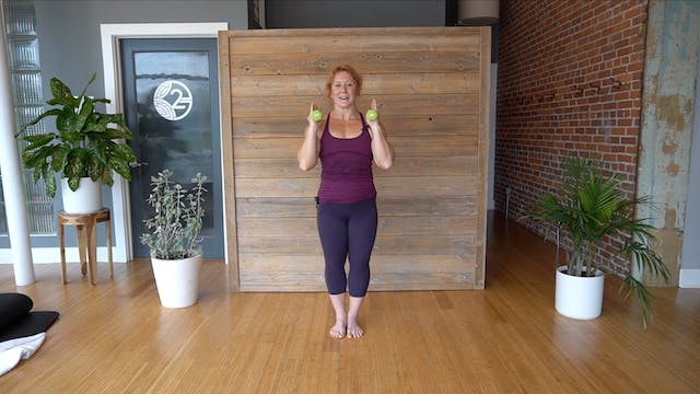 Pilates Abs and Arms with Glenna (Level 1/2)