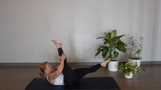 Pilates Mat Centering Focus with Glenna Asmus (Level 1/2)