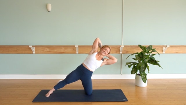 Pilates Mat Control Focus with Glenna Asmus (level 1/2)
