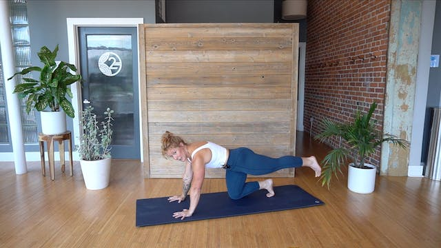 Pilates Mat Glutes, Hips, & Hamstrings with Glenna