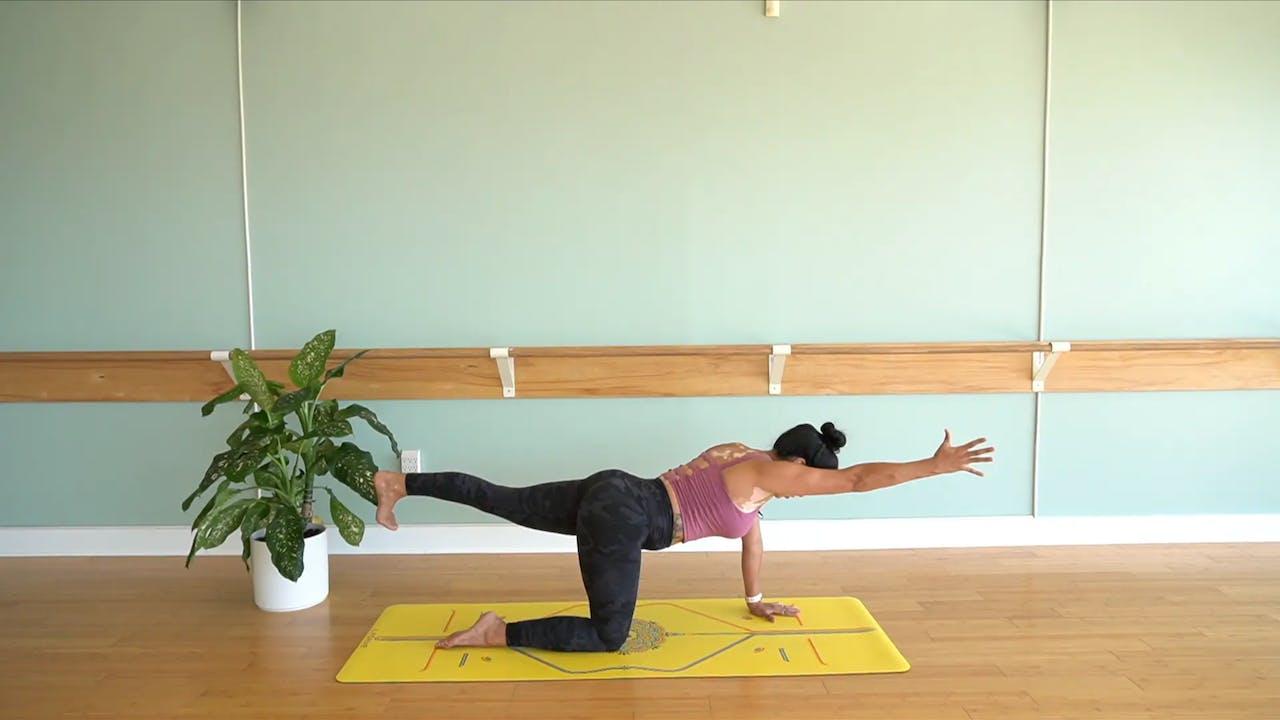 Beginners Vinyasa Yoga with Yvonne (Level 1)