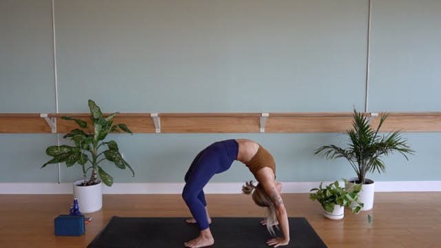 Backbends and Hamstrings with Megan Z...