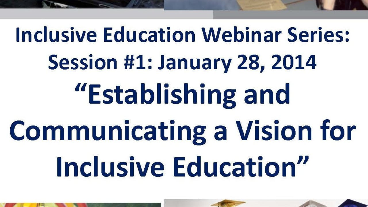 A Vision for Inclusive Education