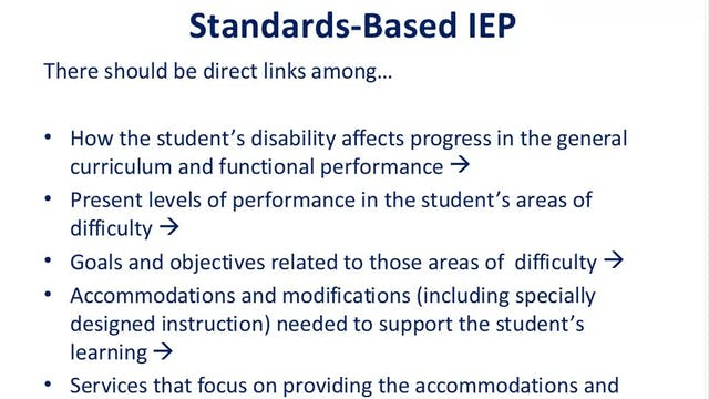 Creating Inclusive IEPs
