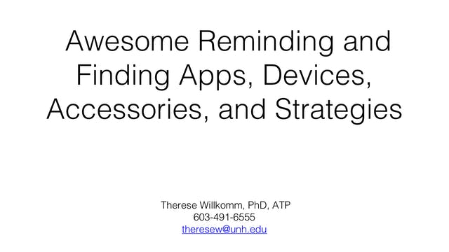 Awesome Reminding & Finding Apps