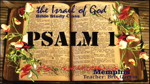 03282020 - IOG Memphis - Psalm 1