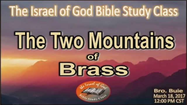 31817 - The Two Mountains of Brass