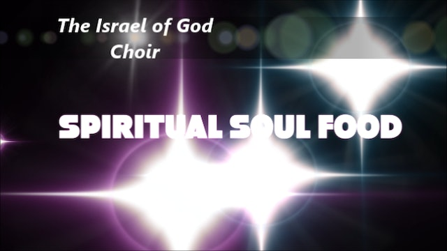 The IOG Presents - Spiritual Soul Food – Food for the Soul Vol. 1 CD