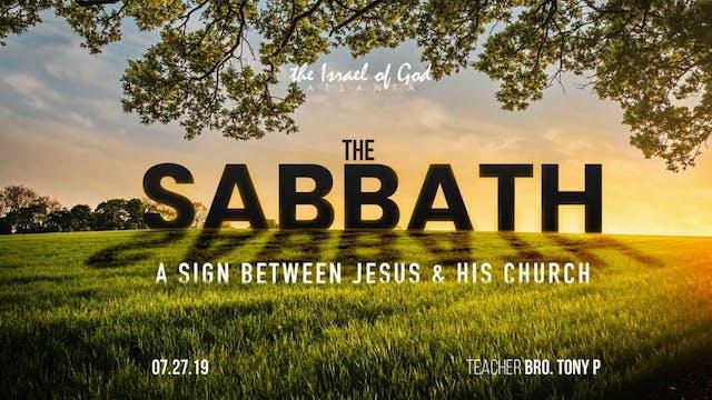 07272019 - IOG Atlanta - The Sabbath:...